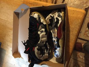 Camo foamposite for Sale in Cleveland, OH