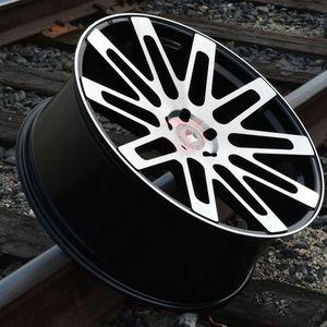 """New 24"""" R24 5x120 Black Machine Wheels for Sale in Miami, FL"""