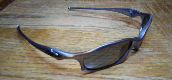 95807522bd OAKLEY Hatchet Wire O-Luminum Carbon   Black Iridium POLARIZED