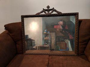 "Vintage antique shabby-chic 24"" x 32"" mirror for Sale in Arlington, VA"