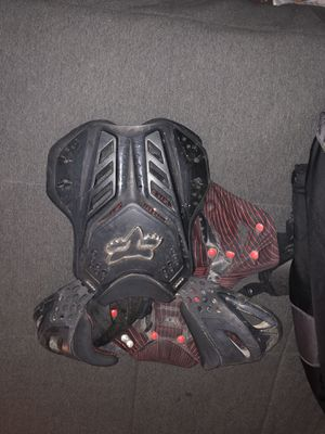 Fox motorcycle chest protector. for Sale in San Diego, CA