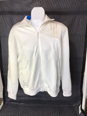 Adidas track jacket off white brand new for Sale in Stockton, CA
