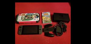Nintendo Switch with Animal Crossing New Horizons and Carrying Case for Sale in Miami, FL