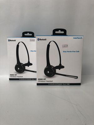 Naztech Bluetooth Wireless Headset for Sale in Warren, MI