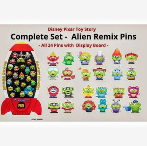 Disney Pixar Toy Story Alien Remix Complete Pin Display Board Set for Sale in Tampa, FL