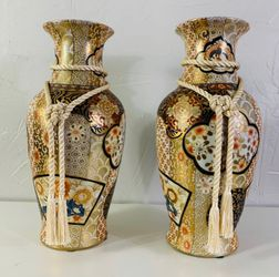 Antique 18th Century Large Japanese Imari Vases for Sale in Forney,  TX