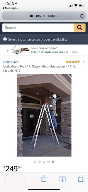 Little giant ladder really cool for Sale in Rockville, MD