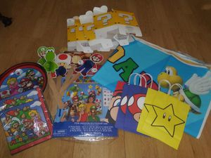 Super Mario Bros. Party Decorations & Costumes for Sale in GILLEM ENCLAVE, GA