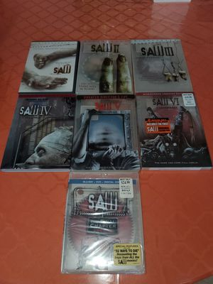 Saw 1-7 DVDS $15 LOCAL PICK UP for Sale in New York, NY