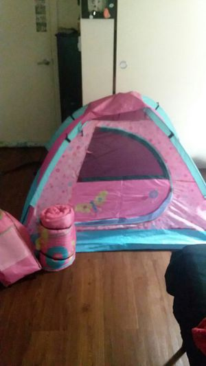 Tent and sleeping bag for Sale in Veradale, WA