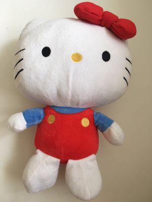 Hello Kitty Toy Boys Girls Kids Children Boy Girl White Red Blue Color Medium Size for Sale in Los Angeles, CA
