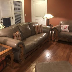 Leather Couch Set for Sale in Bend, OR