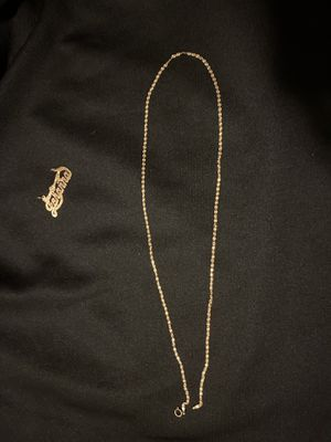 14k gold chain up now for Sale in San Diego, CA