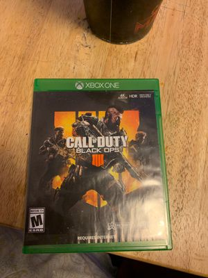 Black ops 4 !!! Only 30 for Sale in San Antonio, TX