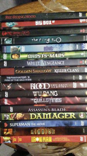 17 random dvds for Sale in Warwick, RI