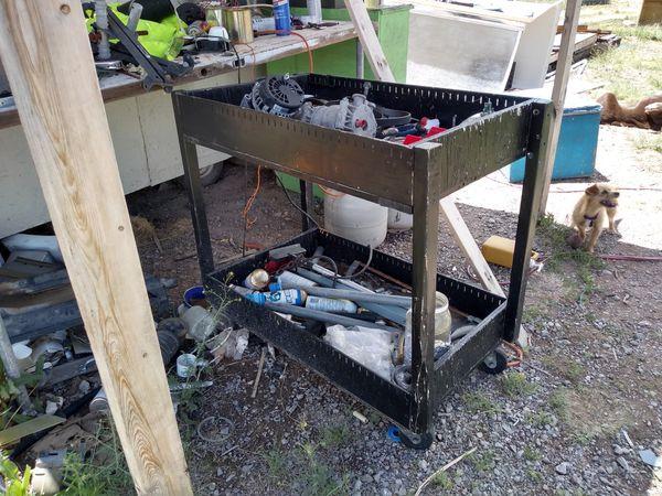 Home made tool cart
