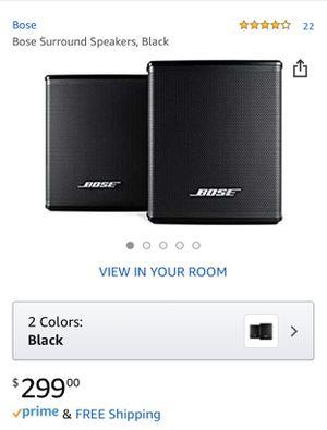 Bose Surround Speakers for Sale in Santa Clara, CA