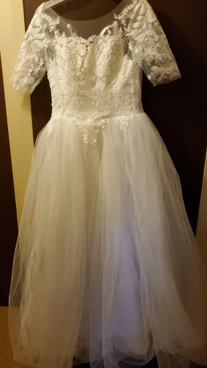 White ball gown for Sale in Philadelphia, PA
