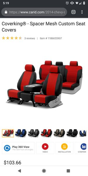Seat Covers for double cab truck for Sale in Grand Junction, CO
