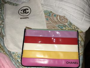 Vintage chaneldouble sided pouch for Sale in Los Angeles, CA