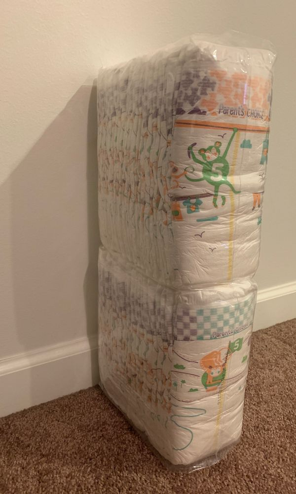 52 size 5 diapers