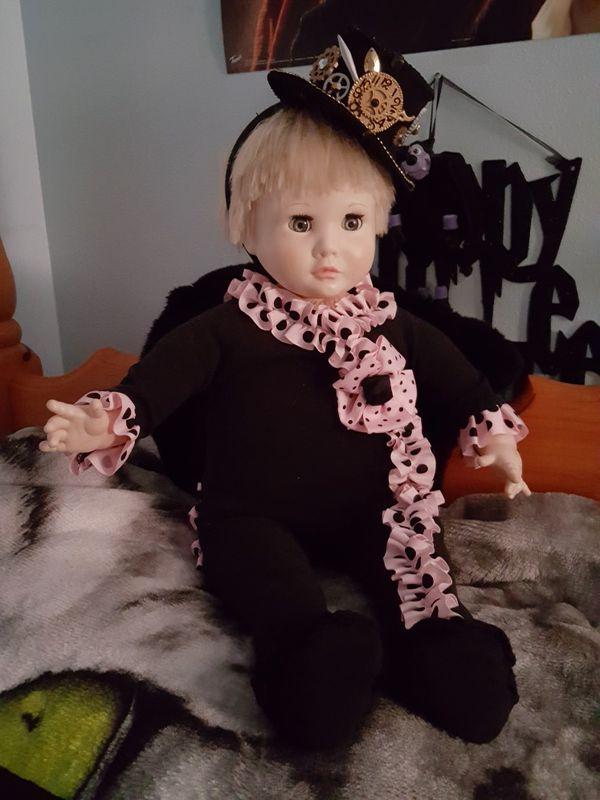 Vintage toddler doll