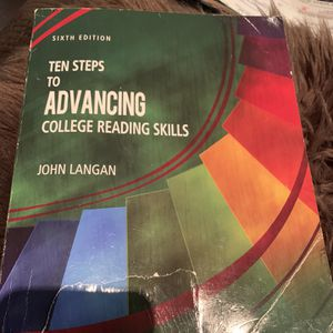 10 steps to advancing college reading skills 6th Edition for Sale in Pico Rivera, CA