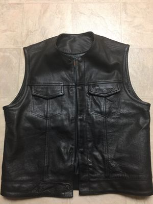 Street & Steal XL leather vest for Sale in Martinez, CA