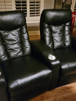 6 THEATER MANUAL RECLINER CHAIRS! GREAT CONDITION for Sale in Duluth,  GA