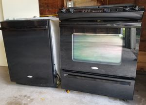 Whirlpool Stove and Dishwasher, Estufa y Lavaplatos for Sale in Houston, TX