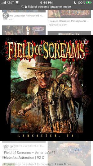 field of screams for Sale in Hummelstown, PA