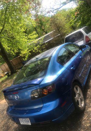 2004 Mazda 3 (Manual Transmission) for Sale in Fort Belvoir, VA