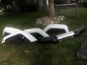 Jeep 2017 front bumper & fenders OEM for Sale in Woodland, CA