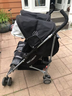 Maclaren Twin Triumph Stroller - Lightweight- Compact for Sale in Bethesda, MD
