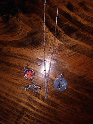 Clemson tiger pendant and necklace for Sale in Anderson, SC