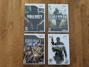 Nintendo Wii - Call of Duty for Sale in Oviedo, FL