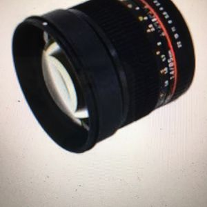 Samyang Rokinon 85mm f1.4 Canon Lens for Sale in Discovery Bay, CA