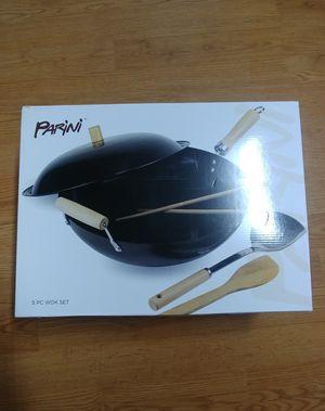 NEW Parini 5 pieces wok set for Sale in Marysville, WA
