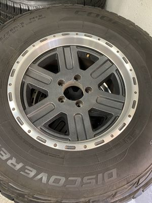Stock Jeep Wrangler wheels&tires for Sale in San Diego, CA