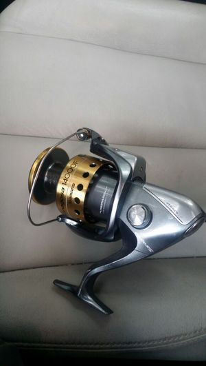 Fishing reel Shimano saragosa 14000 f used big game for Sale in Houston, TX