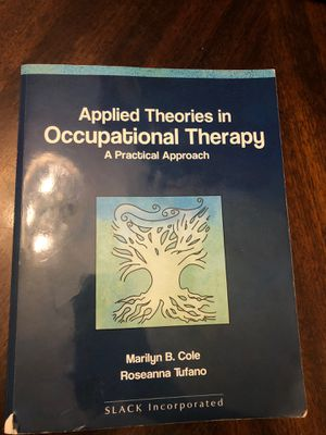 Applied Theories in Occupational Therapy for Sale in Fort Lauderdale, FL