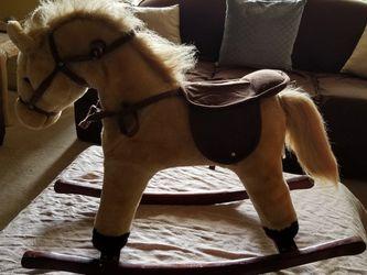 Plush Rocking Horse with Sound for Sale in Miami,  FL