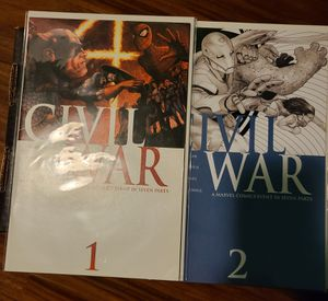 Marvel civil war issues for Sale in Los Angeles, CA