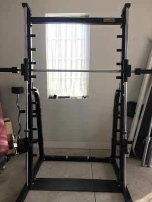 Powertec Smith Machine only (Dumbbells or Curl bar are not included ) for Sale in Ypsilanti, MI