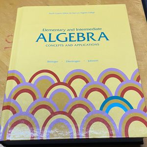 Elementary And Intermediate Algebra 4th Edition for Sale in Ontario, CA