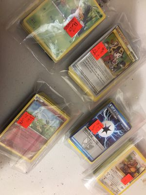 Pokémon cards!!!! Lol all types >>50 cards for $20!;) for Sale in Miami, FL