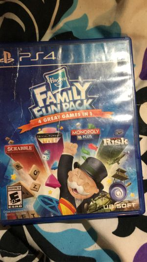 Family Games PS4 for Sale in Roseland, VA