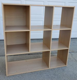 Beautiful 8 SMALL Cubes Cubbies Bookcase Bookshelves Organizer Stand Unit for Sale in Monterey Park, CA