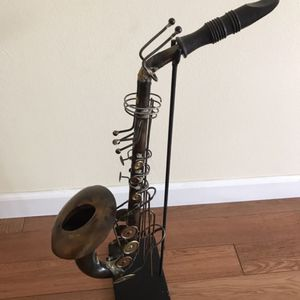 Saxophone Metal Art Detailed Design for Sale in East Windsor, NJ