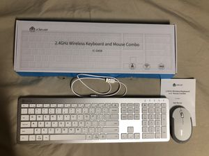 Wireless Keyboard and Mouse Combo for Sale in San Francisco, CA